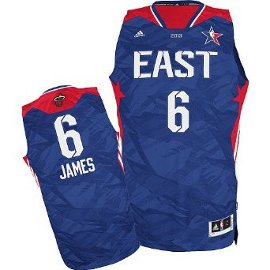 2013 NBA All Star Game Eastern Conference Miami Heat LeBron James jersey