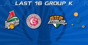 eurocup last 16 group k