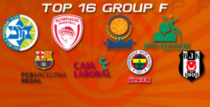 euroleague top 16 group f