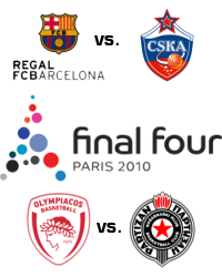 euroleague final four 2010 paris